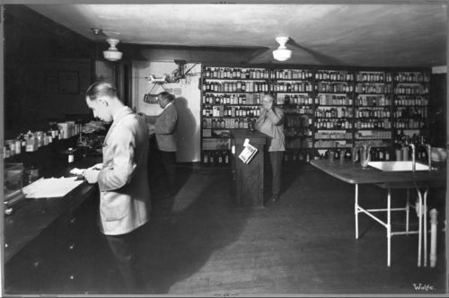 Pharmacy at Stansfield Drug Store, Topeka, Kansas - Page