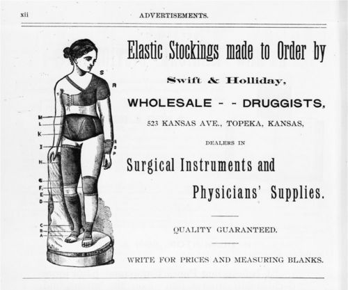 Swift and Holliday, Wholesale Druggists; Topeka, Kansas - Page