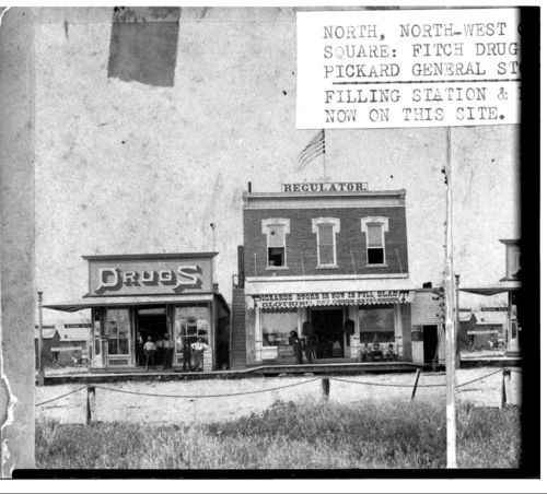 Fitch Drug Store and Pickard's General Store, Washington, Kansas - Page