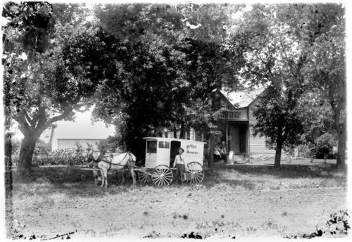 Patent medicine drummer, Alma, Kansas - Page