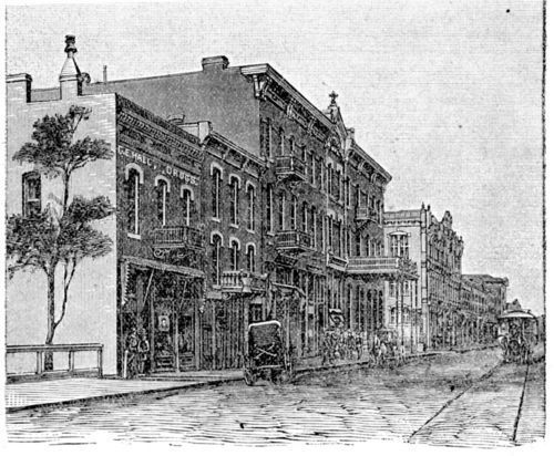 Street scene in Fort Scott, Kansas - Page