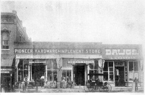 A. J. Eastman Drug Store, Burlington, Kansas - Page