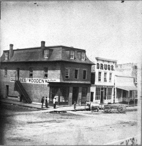 Street scene in Ottawa, Kansas - Page