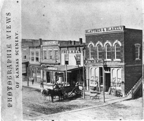 Street scene in Junction City, Kansas - Page