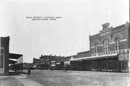 Businesses on Main Street, Osawatomie, Kansas - Page