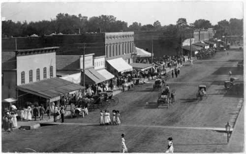 Main Street in Erie, Kansas - Page