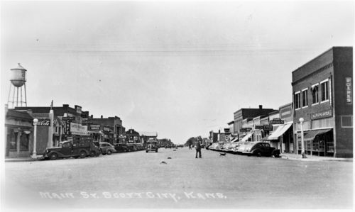 Main Street, Scott City, Kansas - Page