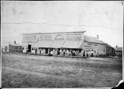 Businesses on Washington Avenue, Wellington, Kansas - Page