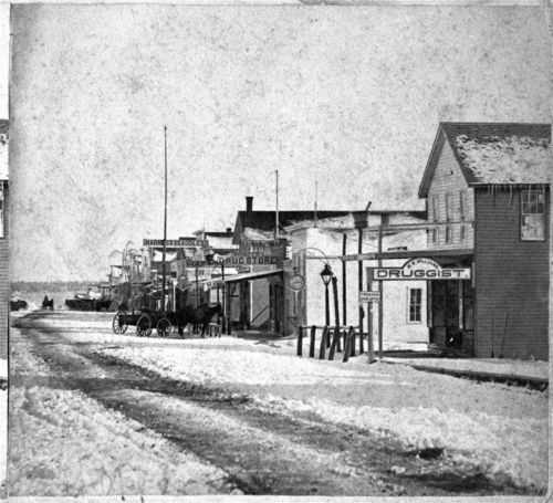 Street scene, Chanute, Kansas - Page