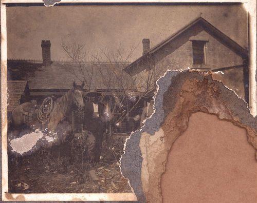 William John Schmedemann with his horse - Page