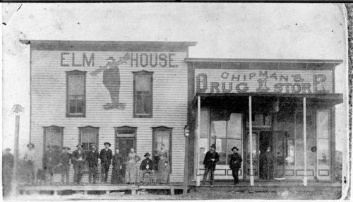 Street scene in Hill City, Kansas - Page