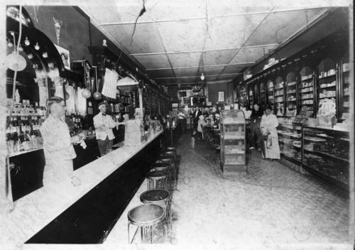 Round Corner Drug Store, Lawrence, Kansas - Page