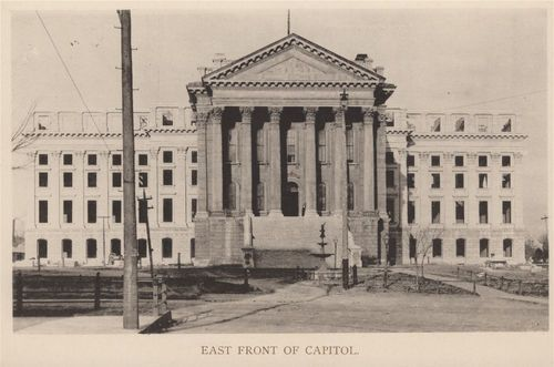 Kansas State Capitol, east wing
