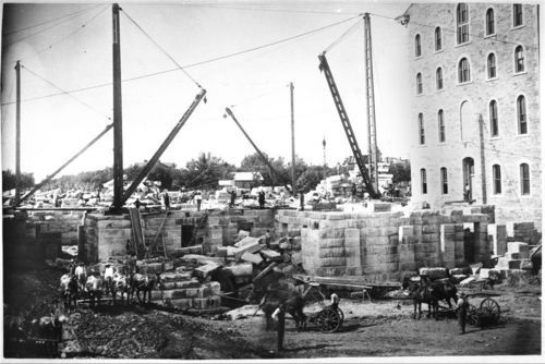 Capitol under construction in Topeka, Kansas - Page