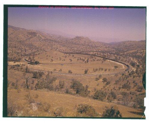 Atchison, Topeka & Santa Fe Railway Company freight train, Tehachapi Loop,California - Page