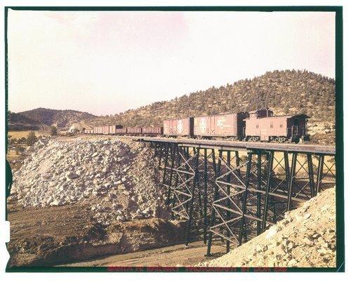 Atchison, Topeka & Santa Fe Railway Company local freight, Arizona - Page