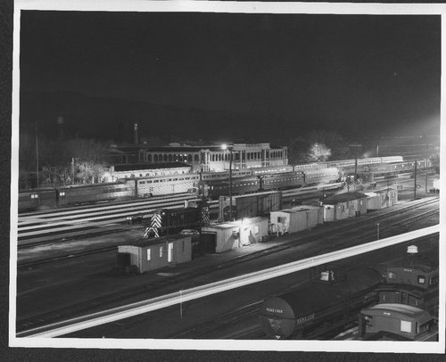 Atchison, Topeka, and Santa Fe Railway Company yard and depot, Barstow, California - Page