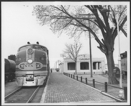 Atchison, Topeka and Santa Fe Railway Company depot, Carlsbad, New Mexico - Page
