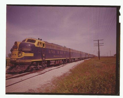 Atchison, Topeka & Santa Fe Texas Expediter, McGregor, Texas - Page