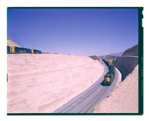 Atchison, Topeka & Santa Fe manifest freight train, Summit, California - Page