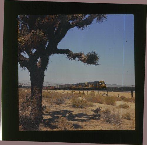 Atchison, Topeka & Santa Fe manifest freight train - Page