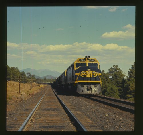 Atchison, Topeka & Santa Fe Railway Company's freight train - Page