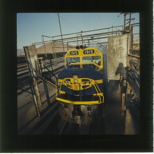 Atchison, Topeka & Santa Fe Railway Company diesel service facility, Barstow, California - Page