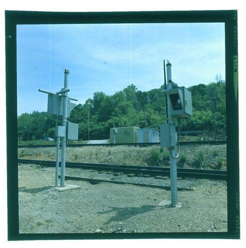 Atchison, Topeka & Santa Fe Railway Company car identification reader, Argentine, Kansas - Page