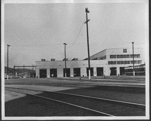 Atchison, Topeka & Santa Fe diesel shop, Barstow, California - Page