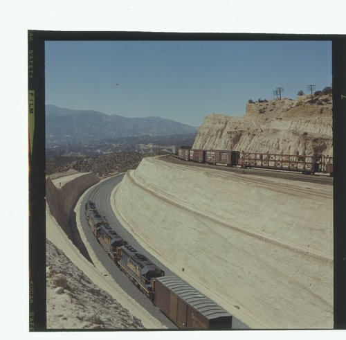 Atchison, Topeka & Santa Fe manifest freight trains, Summit, California - Page