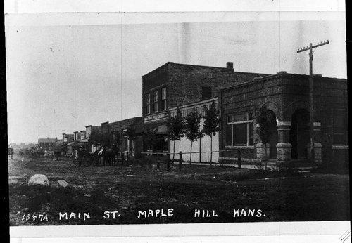 Main Street, Maple Hill, Kansas - Page