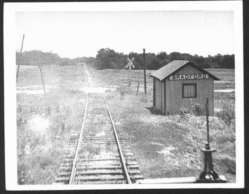 Atchison, Topeka and Santa Fe Railway Company depot, Bradford, Kansas - Page