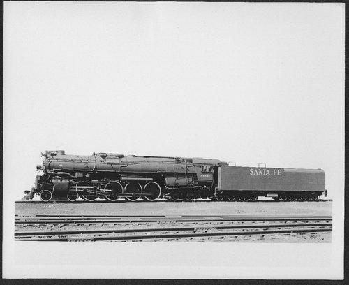 Atchison, Topeka & Santa Fe Railway Company's locomotive no. 3780 - Page