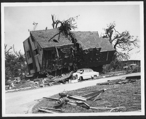 Ruins of a house after a tornado, Topeka, Kansas - Page