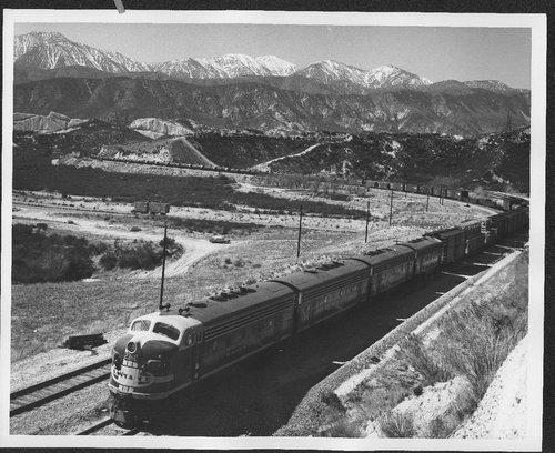 Atchison, Topeka & Santa Fe  locomotive #236C at Alray, California on the Cajon Pass - Page