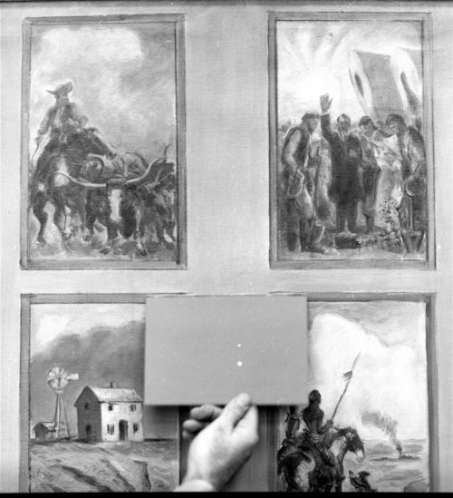 John Steuart Curry's preliminary scketches for the Kansas Capitol in Topeka, Kansas - Page