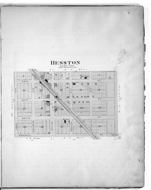 Plat book of Harvey County, Kansas - Page