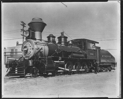 Atchison, Topeka & Santa Fe Railway Company's steam locomotive # 2414 - Page