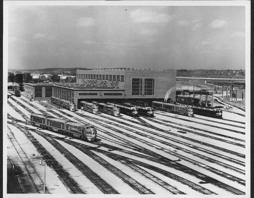 Atchison, Topeka and Santa Fe Railway Company diesel shop, Argentine, Kansas - Page