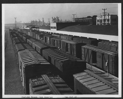 Atchison, Topeka, and Santa Fe Freight House, Los Angeles, California. - Page