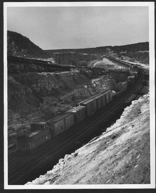 Atchison, Topeka, and Santa Fe Manifest Train - Page