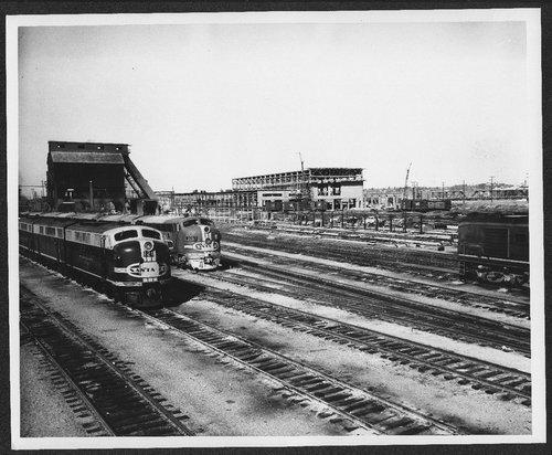 Atchison, Topeka and Santa Fe Railway Company diesel shop, Argentine, Kansas City, Kansas - Page