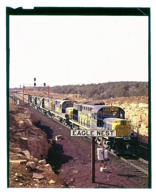 Atchison, Topeka & Santa Fe Railway Company freight, Eagle Nest, Arizona - Page