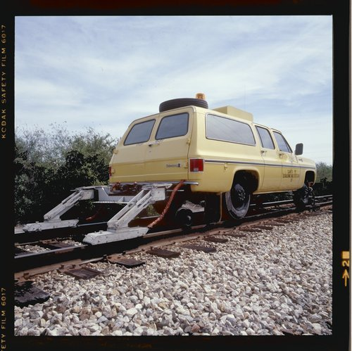 Atchison, Topeka & Santa Fe hi-rail car - Page