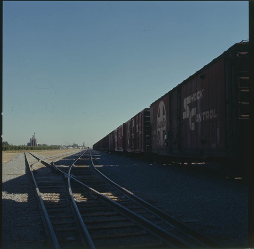 Atchison, Topeka & Santa Fe new east yard,  Empire, California - Page