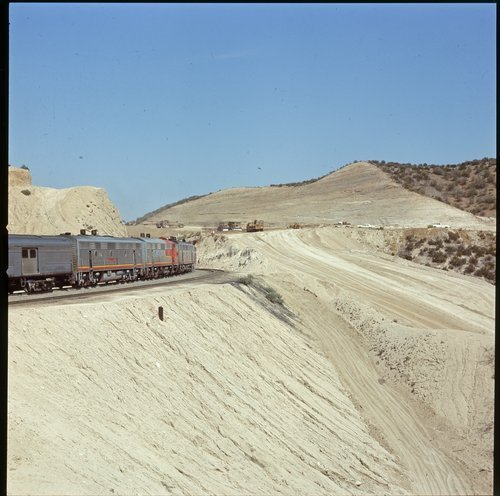 Atchison, Topeka & Santa Fe grading work near Summit, California - Page