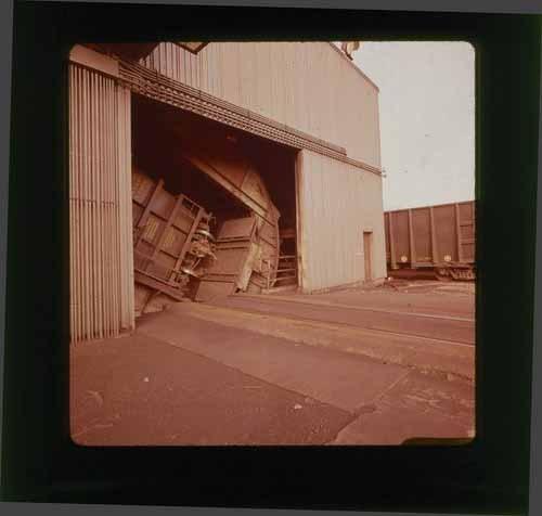 Atchison, Topeka & Santa Fe unloading coal in Kaiser, California - Page