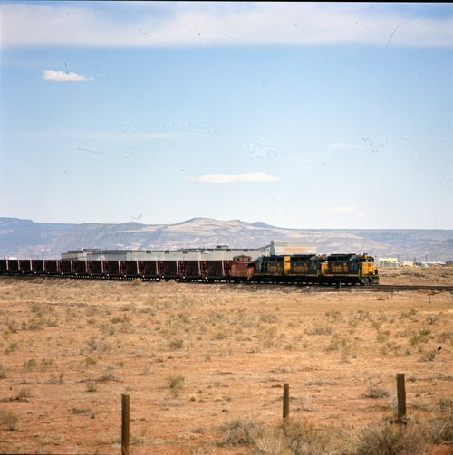 Atchison, Topeka & Santa Fe loaded uranium train - Page