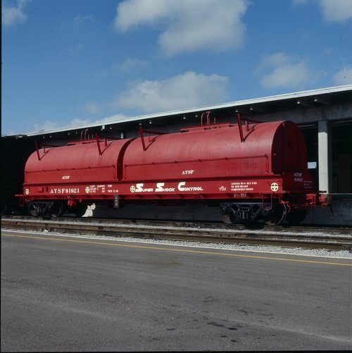 Atchison, Topeka and Santa Fe Railway Company steel coil car - Page