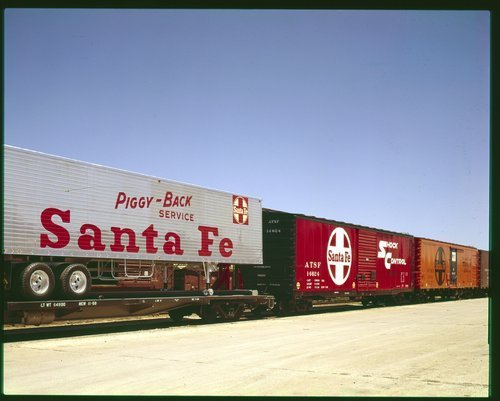 Atchison, Topeka and Santa Fe Railway Company freight cars - Page